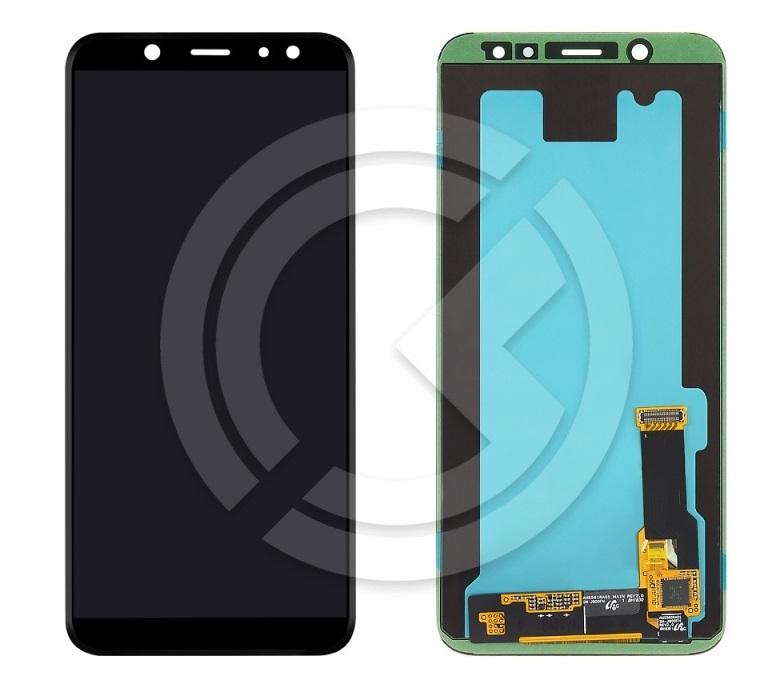 Дисплей для Samsung A600F Galaxy A6 (2018) + тачскрин (черный) ОРИГ100% в Краснодаре