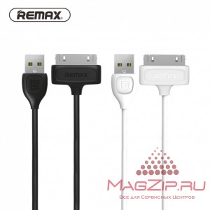 Кабель 30pin REMAX Lesu for iPhone 4/4s RC-050i белый
