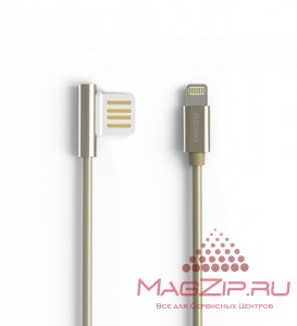 Кабель Lightning REMAX Emperor Cable for iPhone 5/6/7/SE RC-054i золото