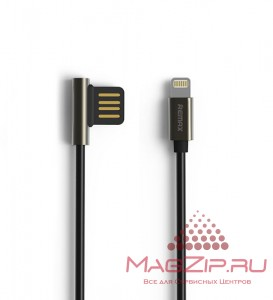Кабель Lightning REMAX Emperor Cable for iPhone 5/6/7/SE RC-054i черный