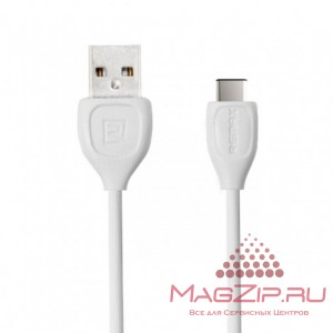 Кабель REMAX Lesu TYPE-C Cable RC-050a (Max output 1.5A) белый