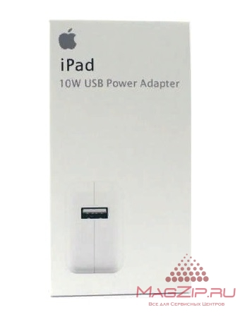 Блок питания Apple 5V, 2A, USB, 10W для iPad, iPad mini, iPhone, iPod, Android