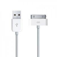 Кабель 30pin REMAX Light Cable For iPhone 4/4S белый