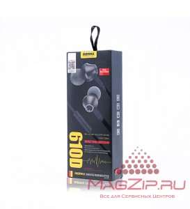 Наушники Remax Earphone RM-610D черные