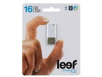 Флешка USB 16GB (USB 2.0) Leef Ice Black (LFICE-016BLR)
